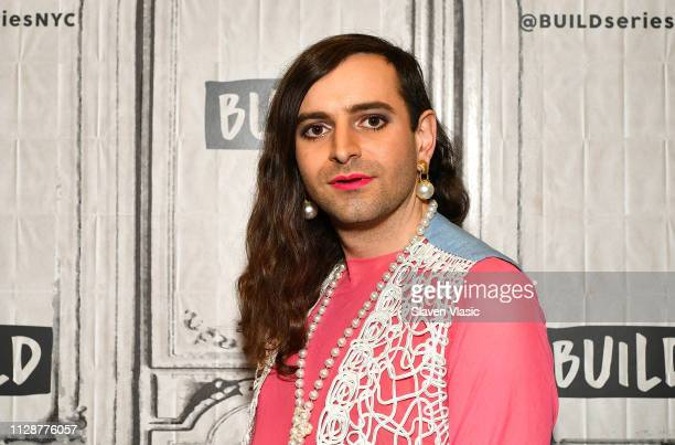 Writer/LGBTQ rights activist Jacob Tobia visits Buils Series to discuss his memoir Sissy A ComingofGender Story at Build Studio on March 5 2019 in...