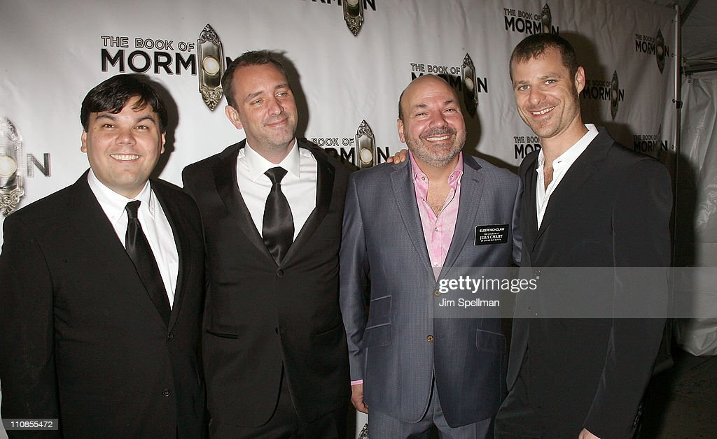 """""""The Book Of Mormon"""" Broadway Opening Night - Arrivals & Curtain Call"""