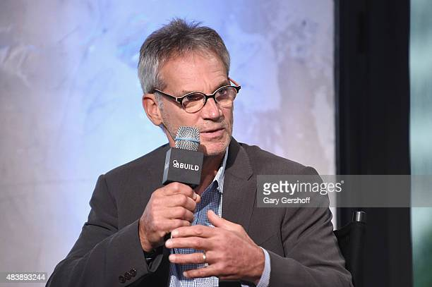 "Writer/mountaineer Jon Krakauer attends AOL Build Presents: ""MERU"" at AOL Studios In New York on August 13, 2015 in New York City."