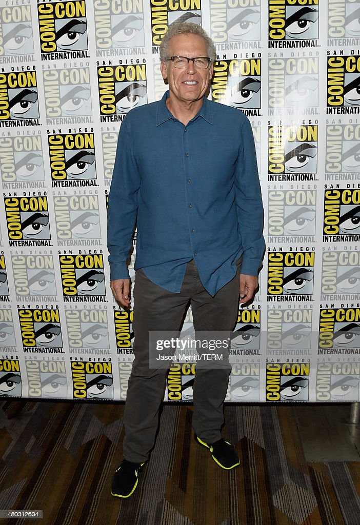 Writer/producer Carlton Cuse attends the 'Colony' press room during Comic-Con International 2015 at the Hilton Bayfront on July 10, 2015 in San Diego, California.