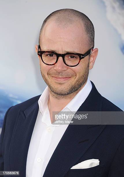 Writer/producer Damon Lindelof arrives at the Los Angeles premiere of 'Star Trek Into Darkness' at Dolby Theatre on May 14 2013 in Hollywood...