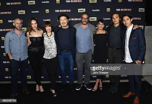 Writer/producer Dave Erickson actress Alycia DebnamCarey producer actor Ruben Blades director/producer Adam Davidson actors Elizabeth Rodriguez Frank...