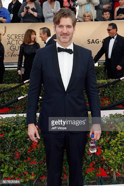 Writer/producer David Benioff attends the 22nd Annual Screen Actors Guild Awards at The Shrine Auditorium on January 30 2016 in Los Angeles California