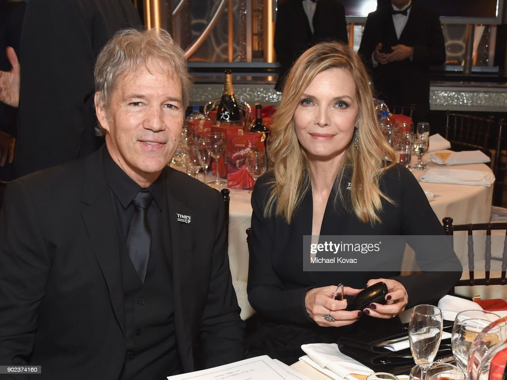 Moet & Chandon At The 75th Annual Golden Globe Awards - Inside : News Photo