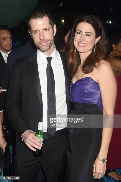 Writer/producer DB Weiss and writer Andrea Troyer attend HBO's Official 2016 Emmy After Party at The Plaza at the Pacific Design Center on September...