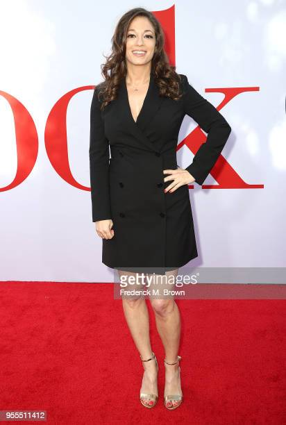 Writer/Producer Erin Simms attends Paramount Pictures' Premiere of 'Book Club' at the Regency Village Theatre on May 6 2018 in Westwood California