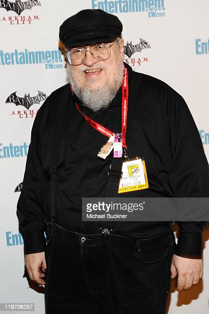 Writer/producer George RR Martin arrives at Entertainment Weekly's 5th Annual ComicCon Celebration sponsored by Batman Arkham City held at Float Hard...