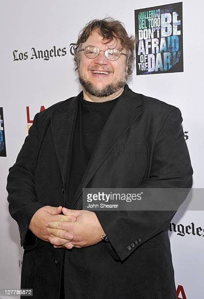"""Writer/Producer Guillermo del Toro arrives at the """"Don't Be Afraid of The Dark"""" Closing Night Gala screening during the 2011 Los Angeles Film..."""