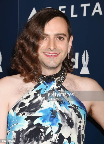 Writer/producer Jacob Tobia attends the 28th Annual GLAAD Media Awards in LA at The Beverly Hilton Hotel on April 1 2017 in Beverly Hills California
