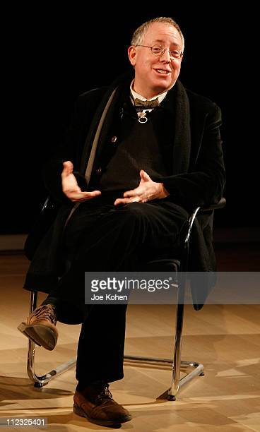 Writer/Producer James Schamus at a panel discussion presented by the Museum of The Moving Image on November 9 2007 in New York City