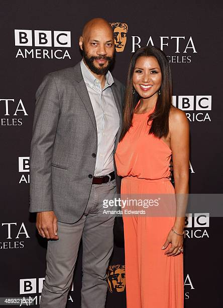 Writer/producer John Ridley and Gayle Ridley arrive at the BAFTA Los Angeles TV Tea 2015 at the SLS Hotel on September 19 2015 in Beverly Hills...