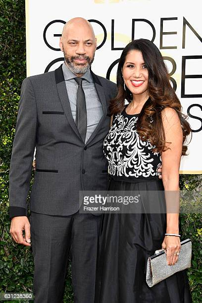 Writer/producer John Ridley and Gayle Ridley attend the 74th Annual Golden Globe Awards at The Beverly Hilton Hotel on January 8 2017 in Beverly...
