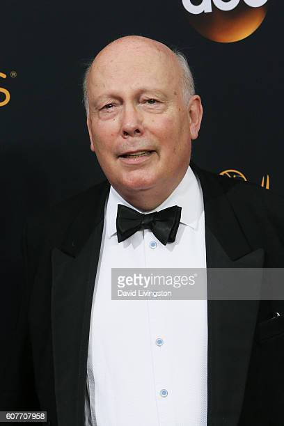 Writer/producer Julian Fellowes arrives at the 68th Annual Primetime Emmy Awards at the Microsoft Theater on September 18 2016 in Los Angeles...