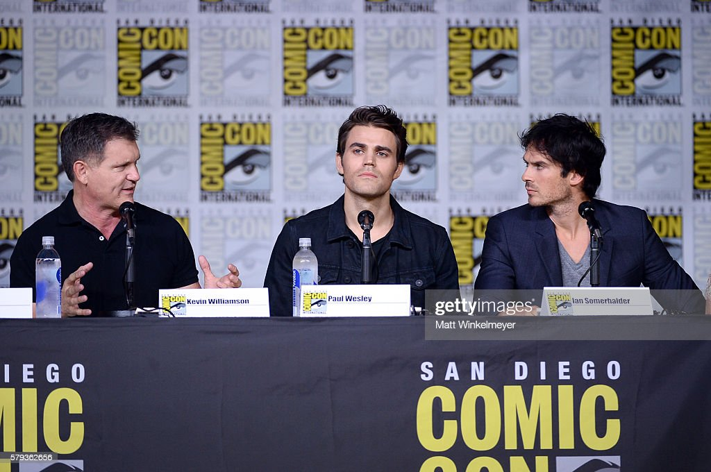 Comic-Con International 2016 - 'The Vampire Diaries' Panel : News Photo
