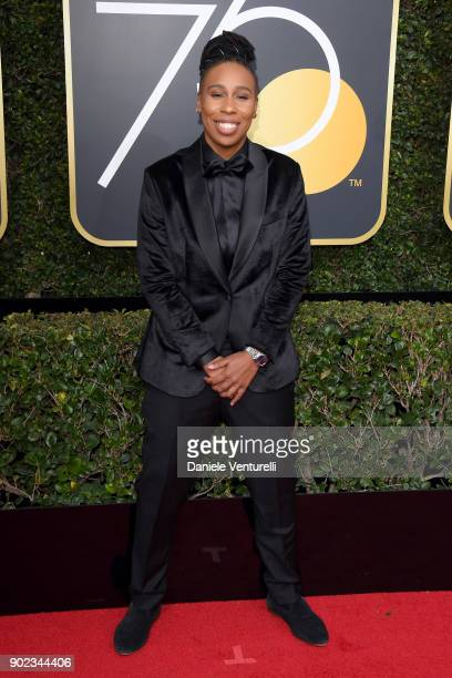 Writer/Producer Lena Waithe attends The 75th Annual Golden Globe Awards at The Beverly Hilton Hotel on January 7 2018 in Beverly Hills California