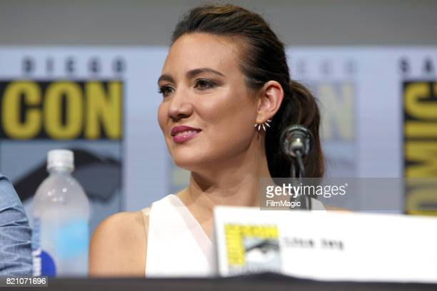 Writer/producer Lisa Joy attends the Westworld panel during San Diego ComicCon 2017 at San Diego Convention Center on July 22 2017 in San Diego...