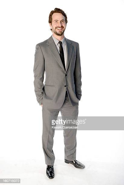 Writer/producer Mark Boal poses for a portrait during the 85th Academy Awards Nominations Luncheon at The Beverly Hilton Hotel on February 4 2013 in...