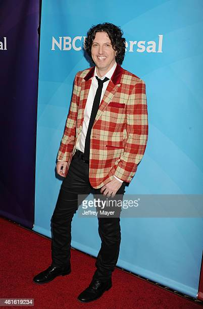 Writer/producer Mark Schwahn attends the NBCUniversal 2015 Press Tour at the Langham Huntington Hotel on January 15 2015 in Pasadena California