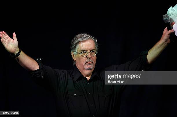 Writer/producer Matt Groening attends FOX's The Simpsons panel during ComicCon International 2014 at the San Diego Convention Center on July 26 2014...