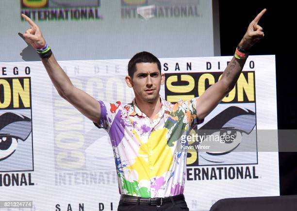 "Writer/producer Max Landis at ""Doctor Who"" BBC America official panel during Comic-Con International 2017 at San Diego Convention Center on July 23,..."