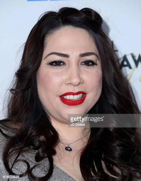 Writer/producer Natalie Sanchez attends the 21st Annual National Hispanic Media Coalition Impact Awards Gala at Regent Beverly Wilshire Hotel on...