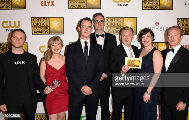 Writer/producer Noah Hawley producer Kim Todd actor Colin Hanks producer John Cameron producer Warren Littlefield actress Allison Tolman and producer...