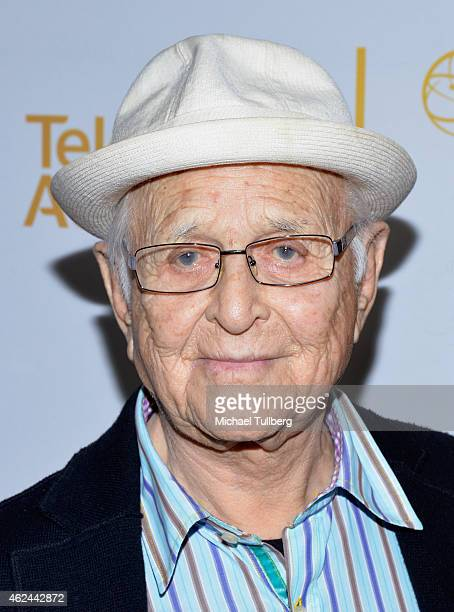 Writer/producer Norman Lear attends An Evening With Norman Lear presented by the Television Academy at The Montalban on January 28 2015 in Hollywood...