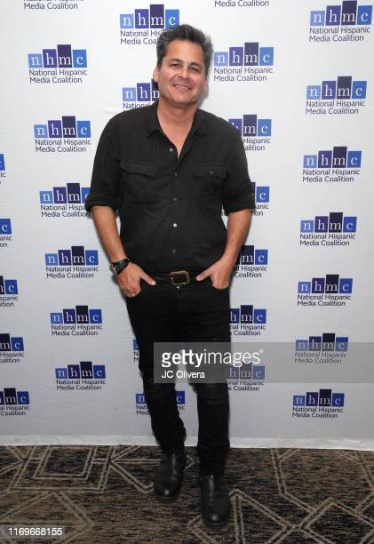 Writer/producer Peter Lenkov attends the NHMC's 17th Annual Los Angeles Impact Awards luncheon at Hilton Universal City on August 22 2019 in...
