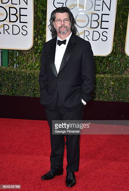 Writer/producer Ronald D. Moore attends the 73rd Annual Golden Globe Awards held at the Beverly Hilton Hotel on January 10, 2016 in Beverly Hills,...