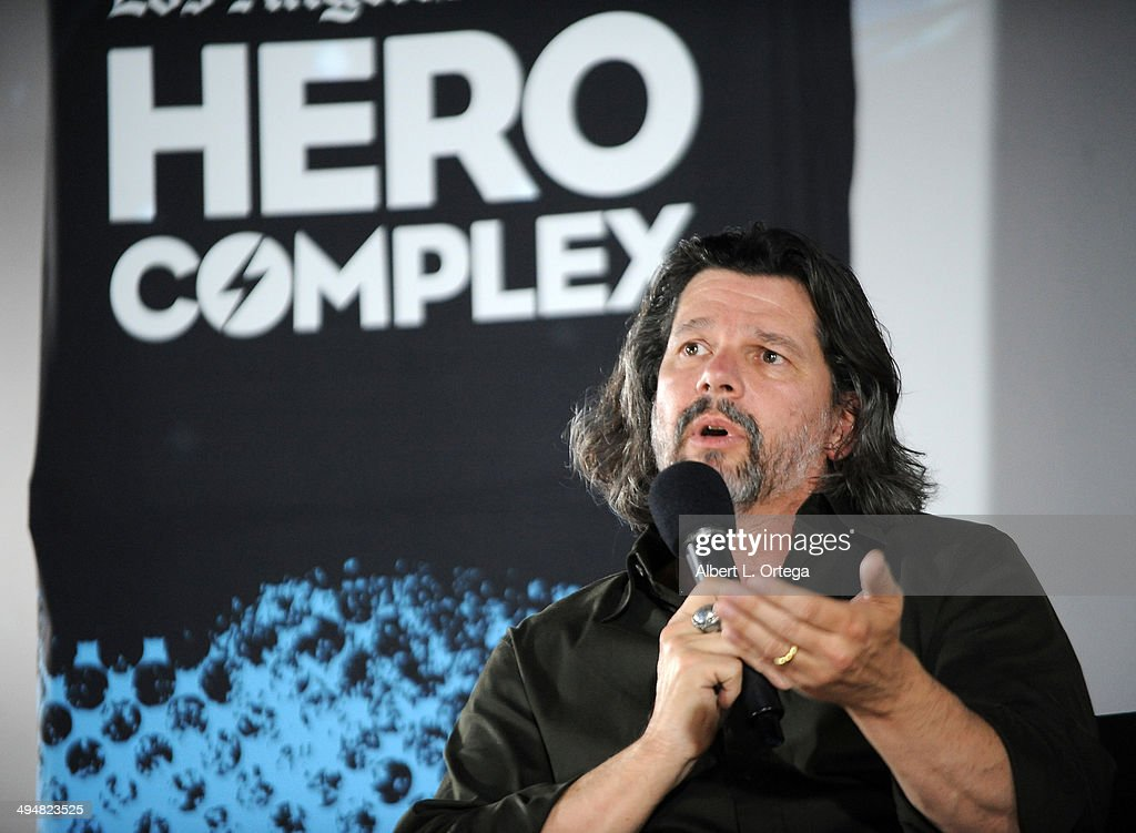 Writer/producer Ronald D. Moore participates in the 5th Annual Hero Complex Film Festival - 'Battlestar Galactica' Screening and Q&A held at the TCL Chinese Theater on May 30, 2014 in Hollywood, California.