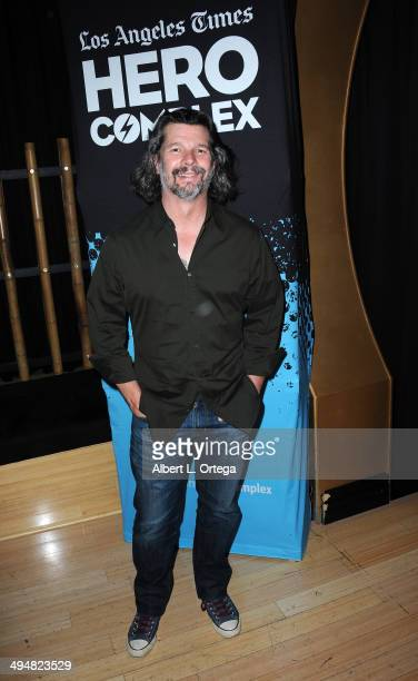 """Writer/producer Ronald D. Moore participates in the 5th Annual Hero Complex Film Festival - """"Battlestar Galactica"""" Screening and Q&A held at the TCL..."""