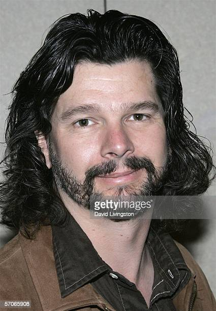 Writer/producer Ronald D. Moore poses at Creation Entertainment's Grand Slam XIV: The Sci-Fi Summit at The Pasadena Center on March 12, 2006 in...