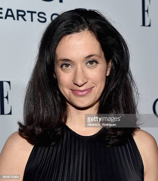 Writer/Producer Sarah Treem attends ELLE's 6th Annual Women in Television Dinner Presented by Hearts on Fire Diamonds and Olay at Sunset Tower on...