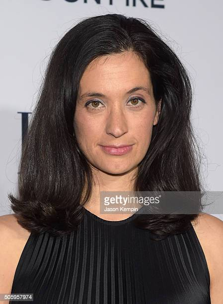 Writer/Producer Sarah Trem attends ELLE's 6th Annual Women in Television Dinner Presented by Hearts on Fire Diamonds and Olay at Sunset Tower on...