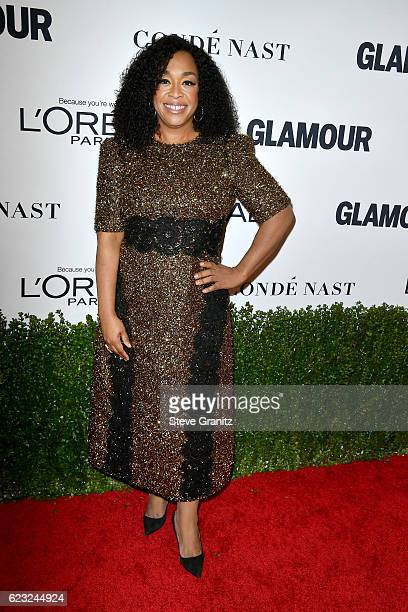 Writer/producer Shonda Rhymes attends Glamour Women Of The Year 2016 at NeueHouse Hollywood on November 14, 2016 in Los Angeles, California.