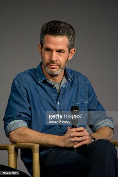 Writer/Producer Simon Kinberg attends Meet the Cast 'XMen Apocalypse' at Apple Store Soho on May 24 2016 in New York City