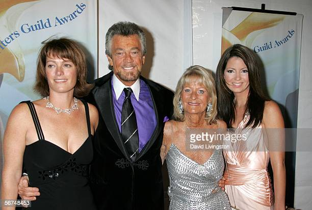 Writer/Producer Stephen J Cannell and wife Marcia Finch and guests arrive at the 2006 Writers Guild Awards held at The Hollywood Palladium on...
