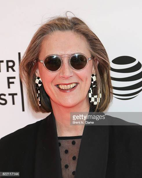 Writer/producer Susan Boyd attends the world premiere of 'A Kind of Murder' during the 2016 Tribeca Film Festival held at the SVA Theatre 2 on April...