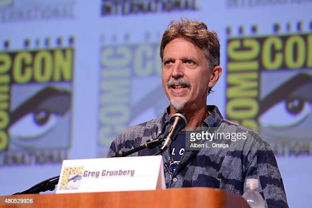Writer/producer Tim Kring speaks onstage at the Heroes Reborn exclusive extended trailer and panel during ComicCon International 2015 at the San...