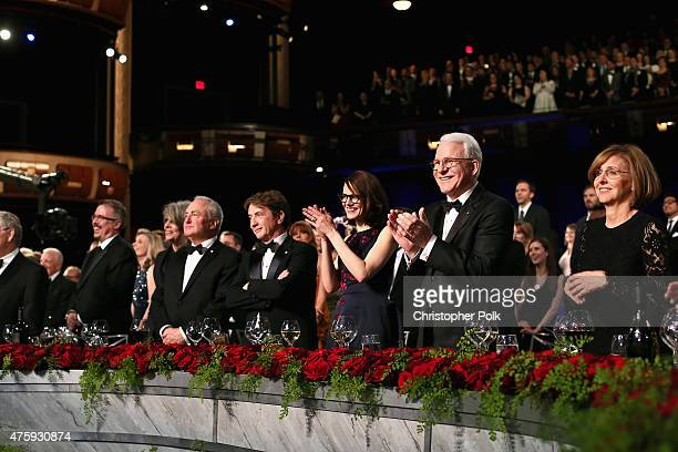 Writer/producer Vince Gilligan actress Diane Keaton producer Lorne Michaels actor Martin Short Anne Stringfield honoree Steve Martin and filmmaker...