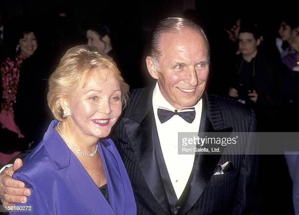 Writer/Producer William J Bell and wife Lee Phillip Bell attend the 10th Annual Soap Opera Digest Awards on February 4 1994 at Beverly Hilton Hotel...