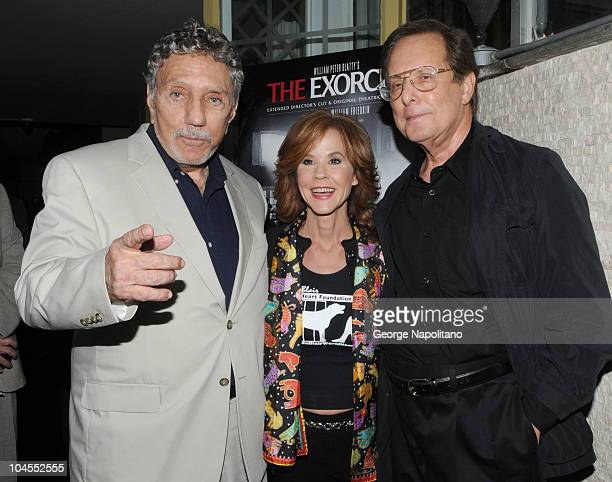 Writer/Producer William Peter Blatty actress Linda Blair and Academy Award winning Director William Friedkin attend the special screening of 'The...