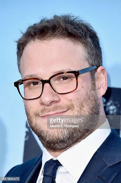 Writer/Producer/Actor Seth Rogen attends the premiere of Universal Pictures' Neighbors 2 Sorority Rising at the Regency Village Theatre on May 16...