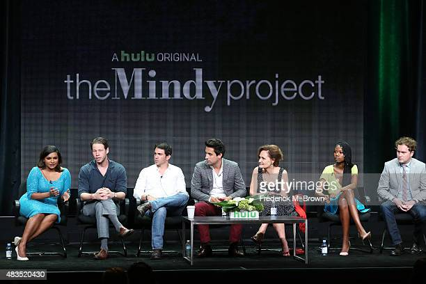 Writer/producer/actress Mindy Kaling writer/actor/director Ike Barinholtz actors Chris Messina Ed Weeks Beth Grant Xosha Roquemore and...