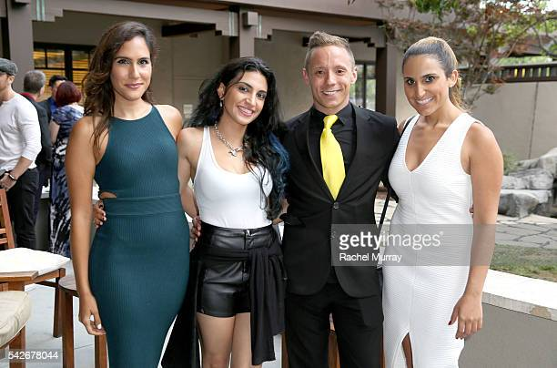 Writer/Producer/CoDirector/Actor Ryan Zamo attends the red carpet premiere party for his new Amazon series 'Back Stabber' at the Ambrose Boutique...