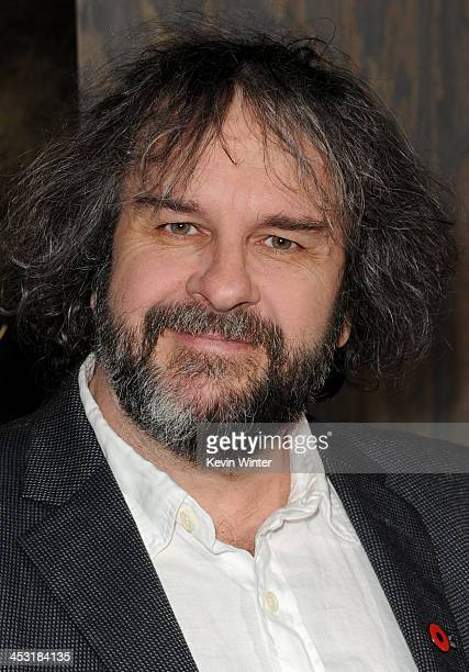Writer/producer/director Peter Jackson attends the premiere of Warner Bros' The Hobbit The Desolation of Smaug at TCL Chinese Theatre on December 2...