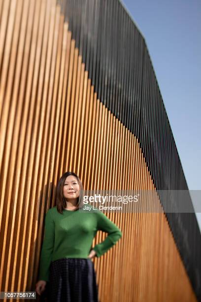 Writer/producer/director Sandi Tan is photographed for Los Angeles Times on October 25 2018 in Los Angeles California PUBLISHED IMAGE CREDIT MUST...
