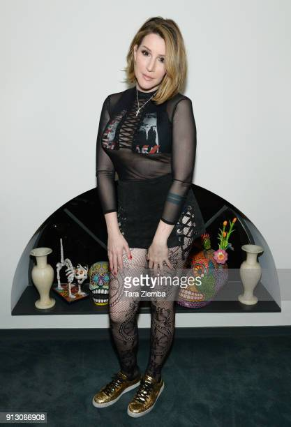 Writer/producer/pianist Our Lady J attends The Secret Society Of The Sisterhood at The Masonic Lodge at Hollywood Forever on January 31 2018 in Los...