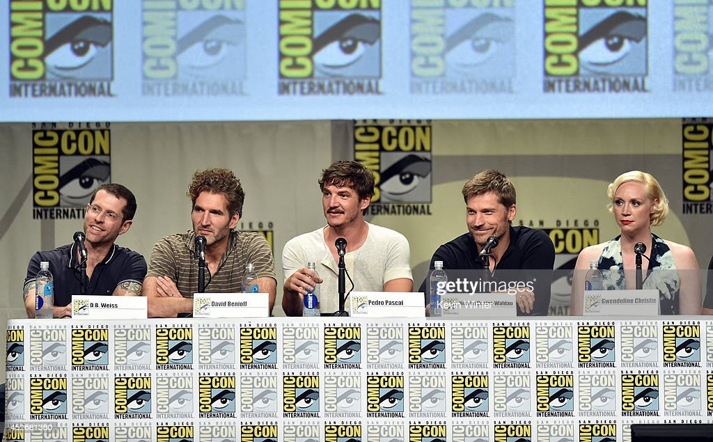 """HBO's """"Game Of Thrones"""" Panel And Q&A - Comic-Con International 2014 : News Photo"""