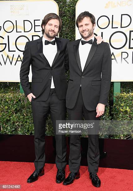 Writer/producers Matt Duffer and Ross Duffer attend the 74th Annual Golden Globe Awards at The Beverly Hilton Hotel on January 8 2017 in Beverly...